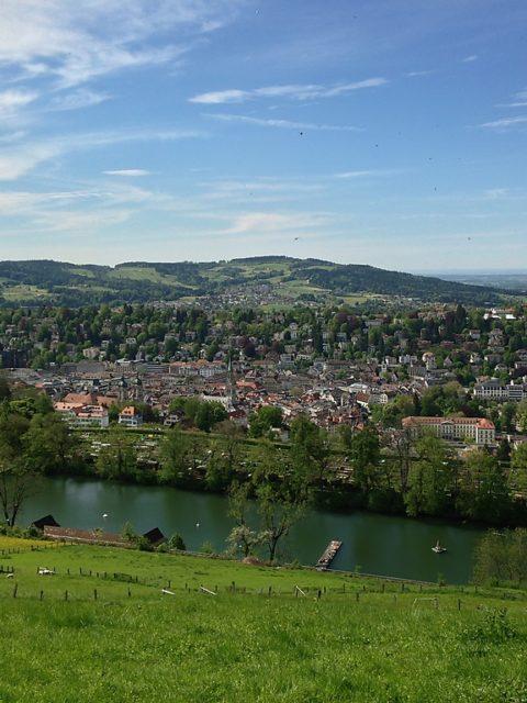 St. Gallen von oben